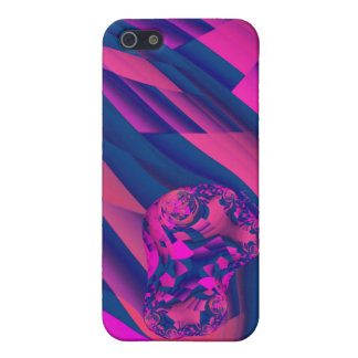 Creating Worlds – Abstract Fractal Magenta Magic Cover For iPhone SE/5/5s