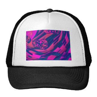 Creating Worlds – Abstract Fractal Magenta Magic Hats