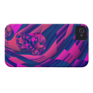 Creating Worlds – Abstract Fractal Magenta Magic iPhone 4 Case-Mate Case