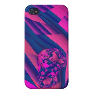 Creating Worlds – Abstract Fractal Magenta Magic iPhone 4 Cases