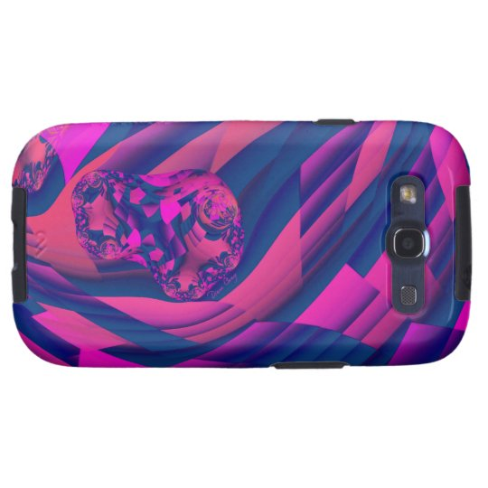 Creating Worlds – Abstract Magenta Sapphire Magic Galaxy SIII Case