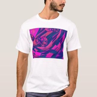 Creating Worlds – Abstract Magenta Sapphire Magic T-Shirt