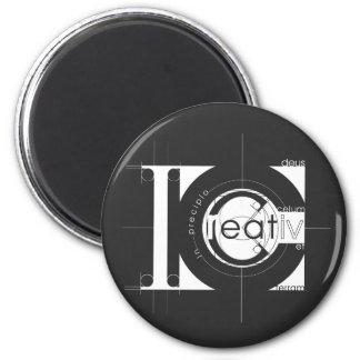 Creation 2 Inch Round Magnet