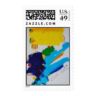 Creation 34 postage stamp