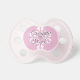 """Creation at Work"" Baby Pacifier"