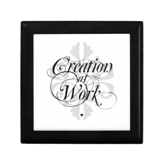Creation at Work Square Jewelry Box