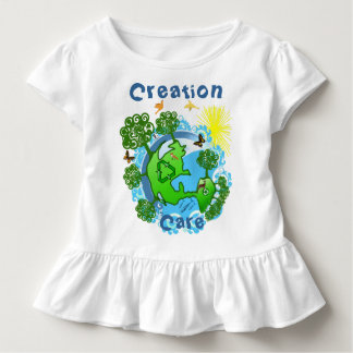 Creation Care The Earth with All God's Creatures Toddler T-shirt