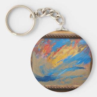 Creation Basic Round Button Keychain