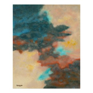 Creation Large Art Print From Original Painting