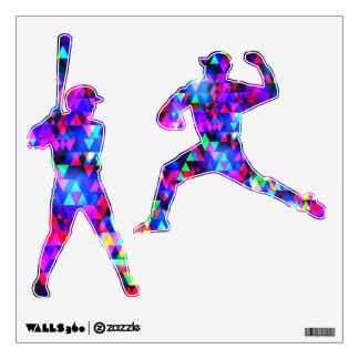 Creation Lights - Baseball Wall Decal