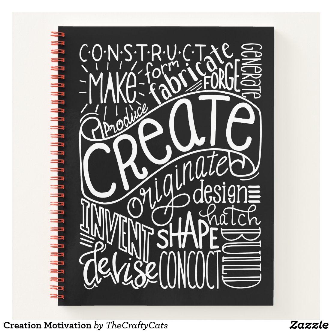 Creation Motivation Notebook