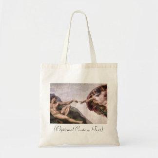 Creation of Adam Canvas Bags