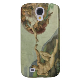 Creation of Adam by Michelangelo Galaxy S4 Cover
