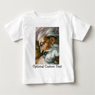 Creation of Adam (detail) Baby T-Shirt
