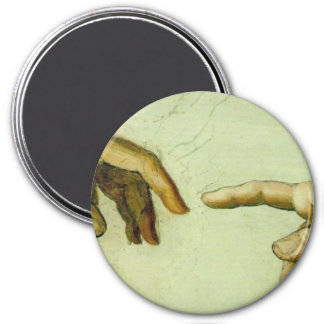 Creation of Adam (detail-hands) Magnet