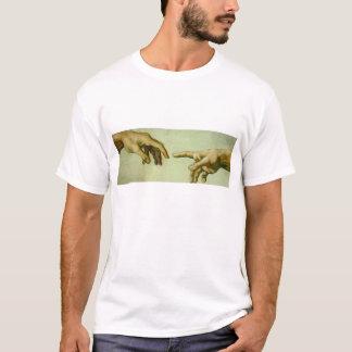 Creation of Adam (detail-hands) T-Shirt