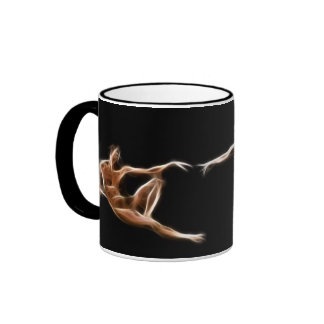 Creation of Adam Michelangelo Fractal Painting Coffee Mugs