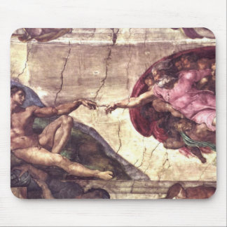 Creation of Adam Mouse Pad