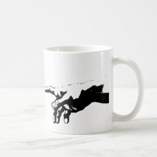 Creation of Adam Coffee Mugs