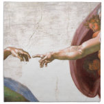 Creation of Adam Napkin