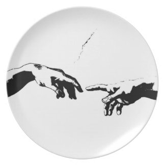 Creation of Adam Party Plates