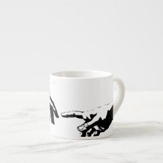 Creation of Adam Espresso Mug