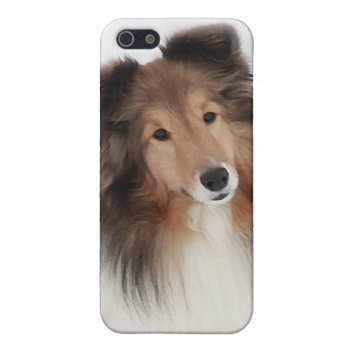 Creation of Shelties Cover For iPhone SE/5/5s