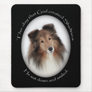 Creation of Shelties Mouse Pad