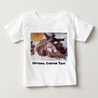 Creation of Sun, Moon, and Planets Baby T-Shirt