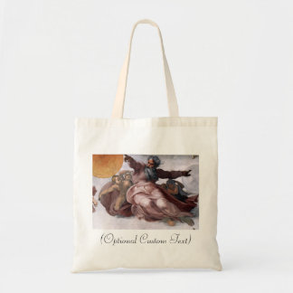 Creation of Sun, Moon, and Planets Tote Bags