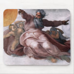 Creation of Sun, Moon, and Planets Mouse Pad