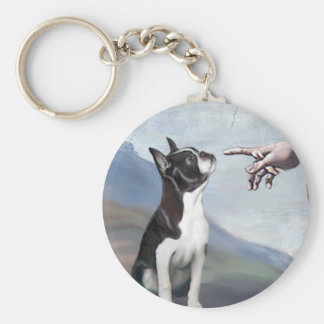 Creation of the Boston Terrier (#3) Keychain