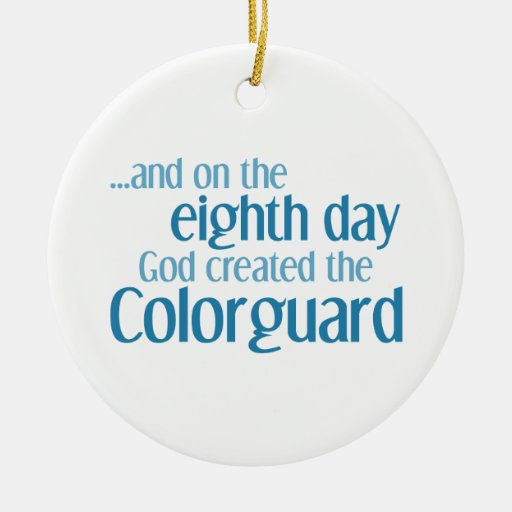 Creation of the Colorguard Christmas Ornaments