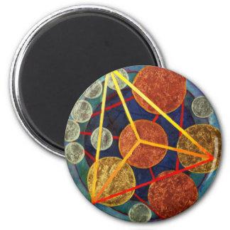 Creation of Universe Fridge Magnets