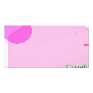 Creation Photo Greeting Card