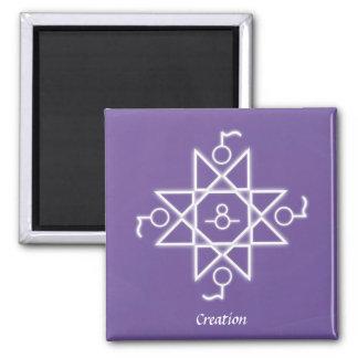 Creation Refrigerator Magnet
