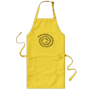 Creation Spiral Long Apron