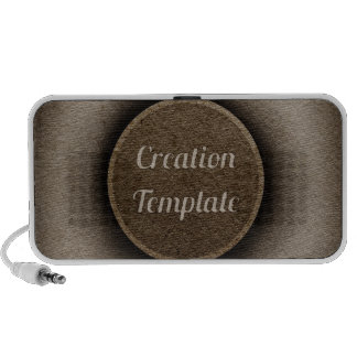 Creation Template Laptop Speakers