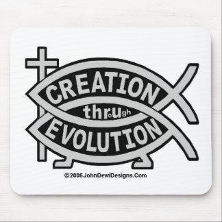 Creation thru Evolution Mouse Pad