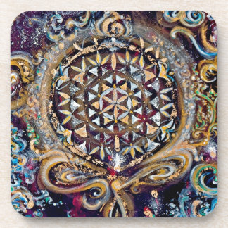 Creation Time 'Cosmic Ocean' Selection Drink Coaster