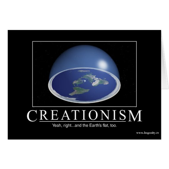 Creationism Customizable Card