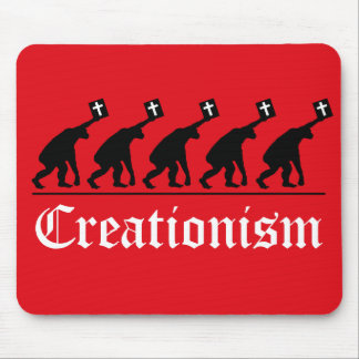 Creationist anti Mousepad Tapete De Ratones