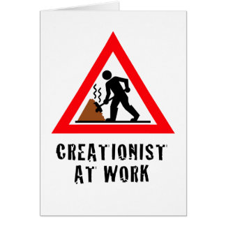 Creationist at Work Card