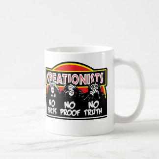 Creationists - Blind, Deaf, and Dumb! Classic White Coffee Mug