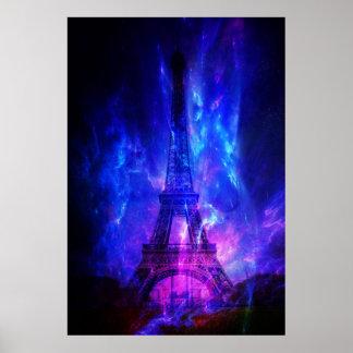 Creation's Heaven Paris Amethyst Dreams Poster