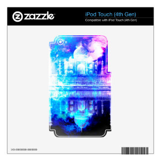 Creation's Heaven Taj Mahal Dreams Skins For iPod Touch 4G