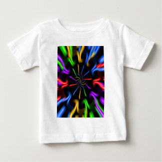 Creations into the color spectrum OF the rainbow Baby T-Shirt