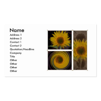 Creations Of One Sunflower Business Card