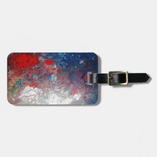 Creative Abstract Art Bag Tag