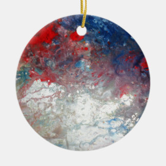 Creative Abstract Art Ceramic Ornament